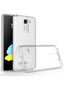 Clear TPU Gel Case For LG Stylus DAB Plus