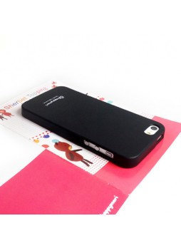 Happymori Candy TPU Gel Case for iPhone 5 / 5S - Black