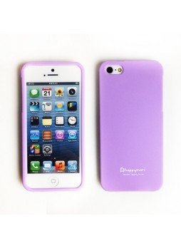 Happymori Candy TPU Gel Case for iPhone 5 / 5S - Purple