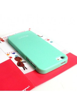 Happymori Candy TPU Gel Case for iPhone 5 / 5S - Green