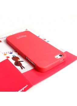 Happymori Candy TPU Gel Case for iPhone 5 / 5S - Red