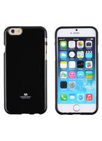 Mercury Pearl TPU Gel Case for iPhone 6 - Black