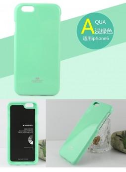 Mercury Pearl TPU Gel Case for iPhone 6 - Green