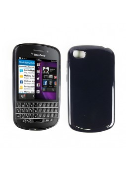 Soft TPU Case for Blackberry Q10 - Black