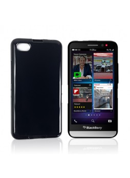 TPU Gel Case Cover for BlackBerry Z30 - Black