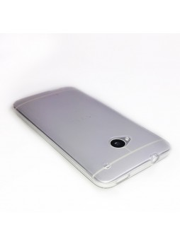 TPU Gel Case for HTC One M7 - Clear
