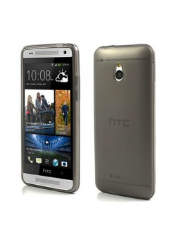 TPU Gel Case Cover for HTC One Mini M4 - Black