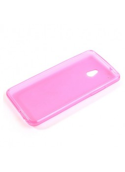TPU Gel Case Cover for HTC One Mini M4 - Hot Pink