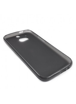 TPU Gel Case Cover for HTC One M8 - Black