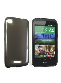 TPU Gel Case Cover for HTC Desire 320 - Dark Grey