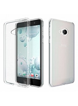 Soft Clear TPU Gel Jelly Case For HTC U Play