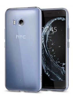 Soft TPU Gel Jelly Case For HTC U11 - Crystal Clear