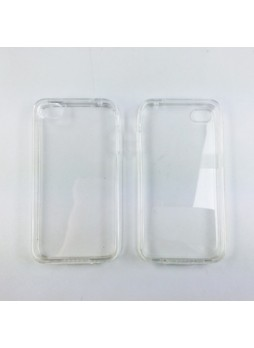 TPU Gel Case Cover for iPhone 4 / 4S - Clear
