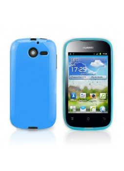TPU Gel Case for Telstra Huawei Ascend Y201 - Blue