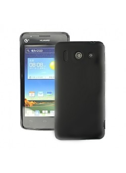 TPU Gel Case for Huawei Ascend G510 - Black