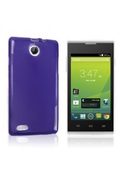 Telstra Tempo T815 TPU Gel Case Cover - Purple