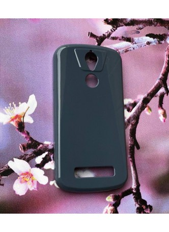 TPU Gel Case for Telstra Tough Max 2 T85 - Navy Blue