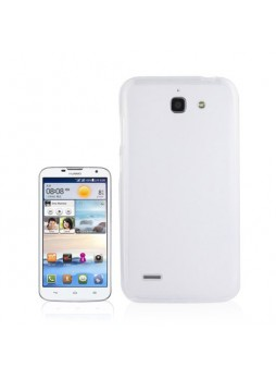 TPU Gel Case Cover for Huawei Ascend G730 White