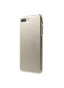 Mercury Goospery iJelly Gel Case For Oppo R11 - Gold