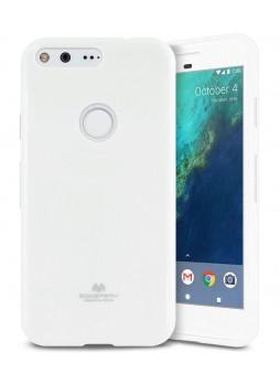 Korean Mercury Pearl iSkin TPU For Google Pixel - White