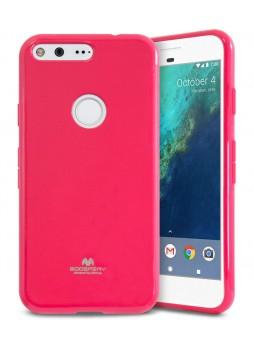Korean Mercury Pearl iSkin TPU For Google Pixel - Hot Pink
