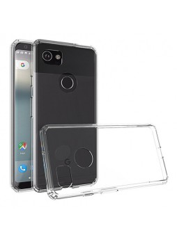 Soft TPU Gel Jelly Case For Telstra Google Pixel 2 XL - Clear
