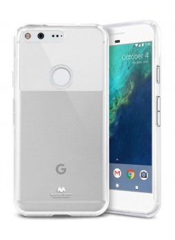 Korean Mercury Pearl iSkin TPU For Google Pixel XL - Clear