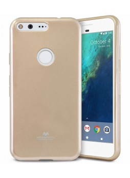 Korean Mercury Pearl iSkin TPU For Google Pixel XL - Gold
