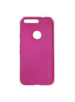 Mercury Goospery iJelly Gel Case For Google Pixel - Hot Pink