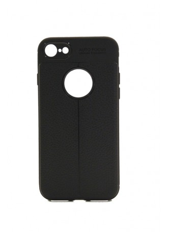 TPU PU Leather Back Case For Telstra Google Pixel 2 - Black