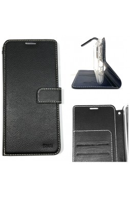 Genuine Molancano ISSUE Diary Stand Wallet Case For Samsung A71 6.7 inch Black