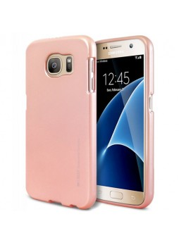 Mercury Goospery iJelly Gel Case For Samsung Galaxy S7 - Rose Gold