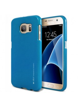 Mercury Goospery iJelly Gel Case For Samsung Galaxy S7 - Royal Blue