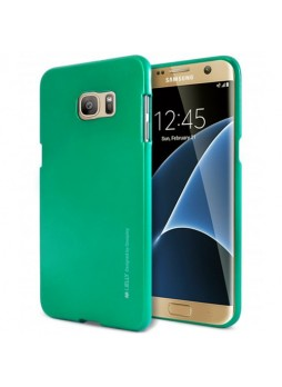 Mercury Goospery iJelly Gel Case For Samsung Galaxy S7 Edge - Green