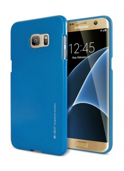Mercury Goospery iJelly Gel Case For Samsung Galaxy S7 Edge - Royal Blue