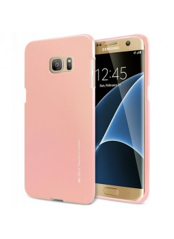 Mercury Goospery iJelly Gel Case For Samsung Galaxy S7 Edge - Rose Gold