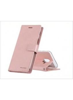 Korean Mercury Bluemoon Diary  Wallet Case For Samsung  Galaxy  S10 5G Rose Gold