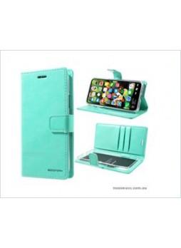 Korean Mercury Bluemoon Diary  Wallet Case For Samsung  Galaxy  S10 5G Mint Green
