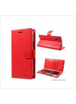 Korean Mercury Bluemoon Diary  Wallet Case For Samsung  Galaxy  S10 5G Red