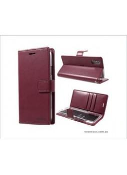 Korean Mercury Bluemoon Diary  Wallet Case For Samsung  Galaxy  S10 5G Red Wine
