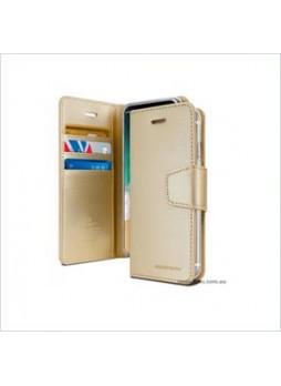 Korean Mercury Sonata Wallet Case For Samsung  Galaxy  S10 5G Gold