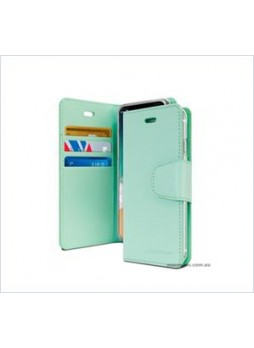 Korean Mercury Sonata Wallet Case For Samsung  Galaxy  S10 5G Mint Green