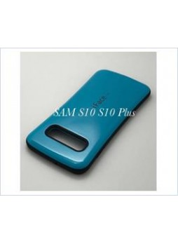 Iface mall  Anti-Shock Case  For Samsung  Galaxy  S10  Plus Sea Blue