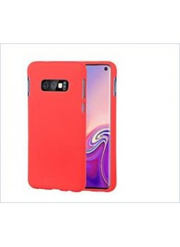 Korean Mercury  Soft Feeling  Jelly Case For Samsung  Galaxy  S10  Plus Red