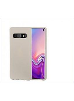 Korean Mercury  Soft Feeling  Jelly Case For Samsung  Galaxy  S10  Plus Stone