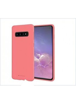 Korean Mercury  Soft Feeling  Jelly Case For Samsung  Galaxy  S10  Plus Pink