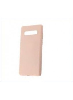 Korean Mercury  Soft Feeling  Jelly Case For Samsung  Galaxy  S10  Plus Pink Sand