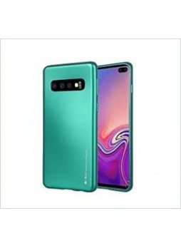 Korean Mercury  I-Jelly Case For Samsung  Galaxy  S10  Plus Green