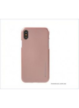 Korean Mercury  I-Jelly Case For Samsung  Galaxy  S10E Rose Gold