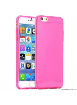 TPU Gel Case Cover for iPhone 7 4.7 inch - Hot Pink